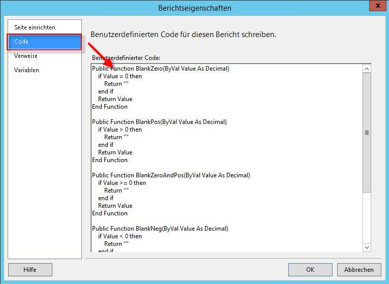 VisualStudio_Berichtseigenschaften_Code