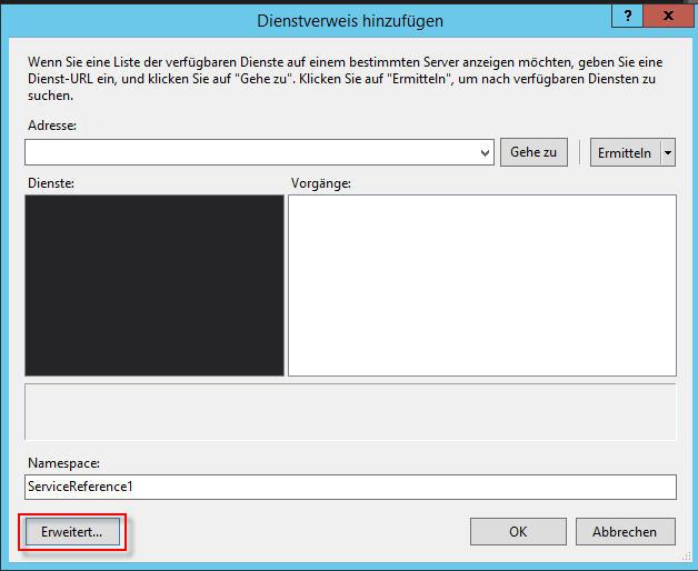 Web Services - 5 Dienstverweis hinzufügen_2